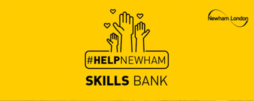 Help Newham Skills Bank – Now Available